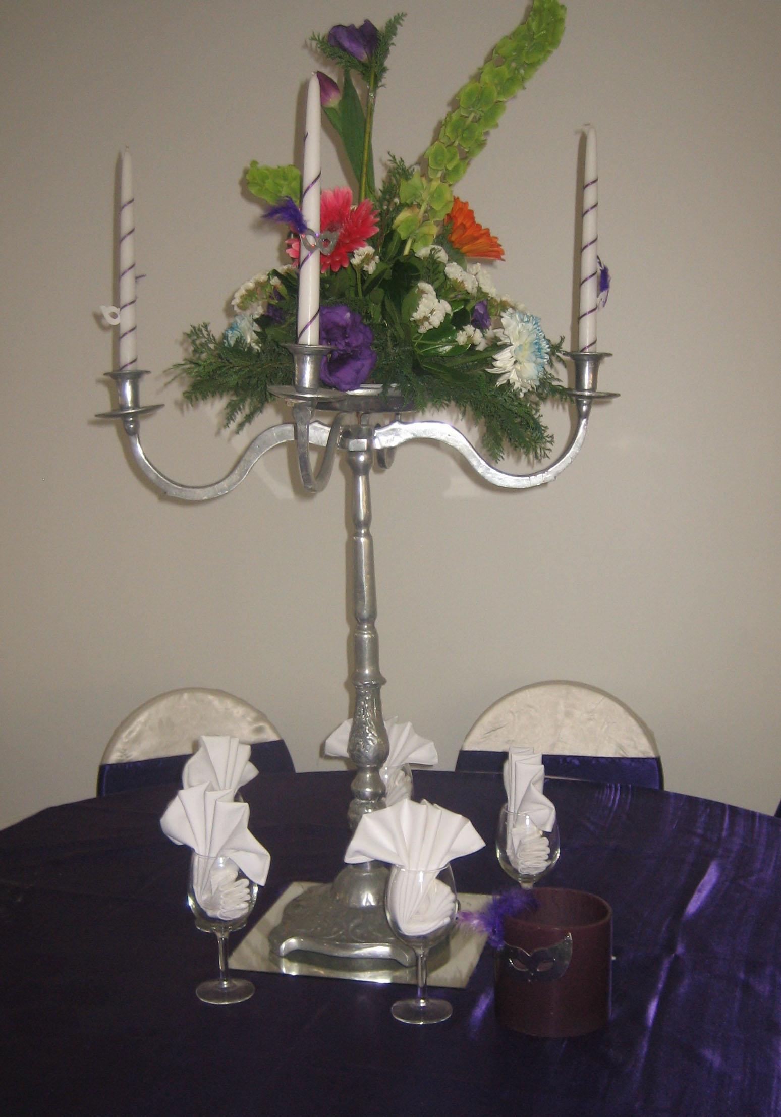 Centros de mesa con velas 1 la casa de la vela - La casa de las velas ...
