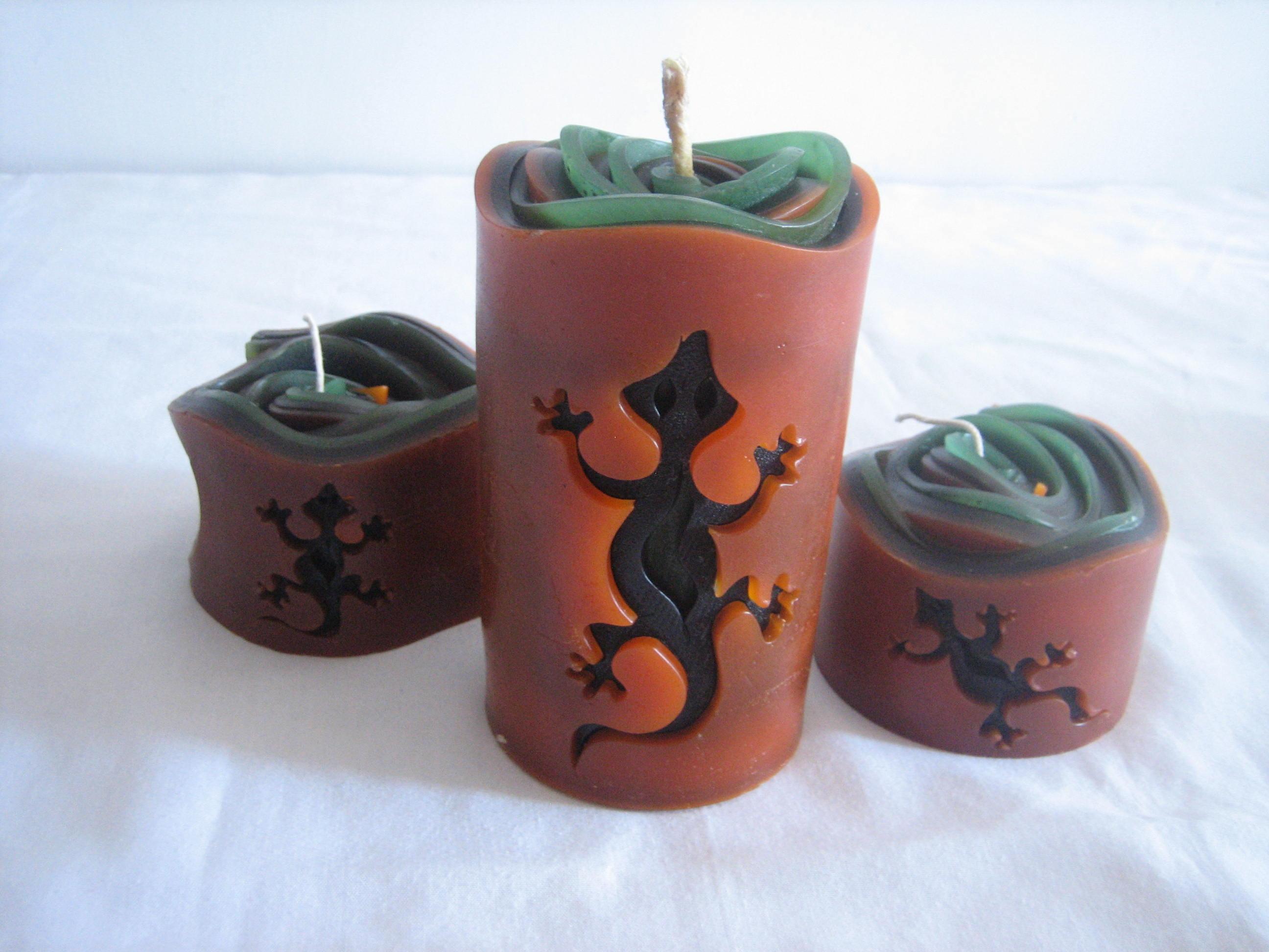 Velas enrolladas la casa de la vela - La casa de las velas ...